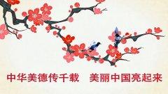 中华美德传千载 美丽中国亮起来